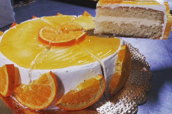 Chantilly all'arancia