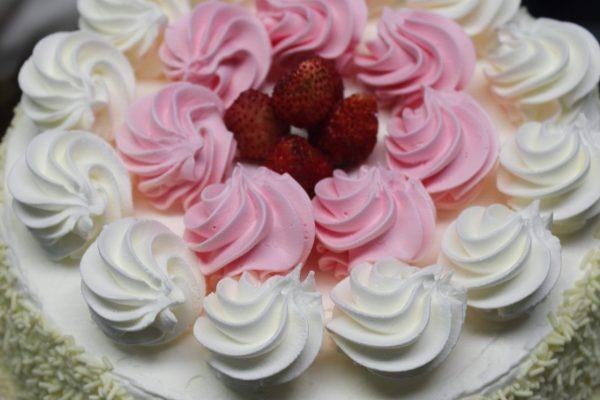 Torta chantilly e fragoline